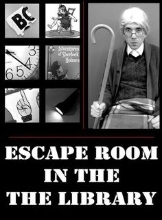 Tween Programming-Escape Room in the Library - De Lego-bibliothecaris Library Games, Library Book Displays, Teen Library, Library Events, Library Activities, Activities For Teens, Library Ideas, Library Boards, Library Inspiration