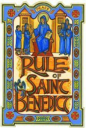 "The Rule of Saint Benedict (Regula Benedicti) is a book of precepts written by St. Benedict of Nursia (c.480–547) for monks living communally under the authority of an abbot. The spirit of St. Benedict's Rule is summed up in the motto of the Benedictine Confederation: pax (""peace"") and the traditional ora et labora (""pray and work"")."