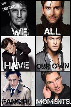 two doctors. Mal, Loki, and Sherlock in the same pic!  So good.