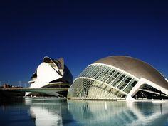 Museo de las artes y ciencias de Calatrava. Valencia  Book now: booking@hivalencia.com