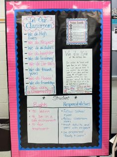 "I really like the ""We the Kids Preamble"" from One Teachers Take... is Anothers Treasure!: Class Behavior Expectation Board"