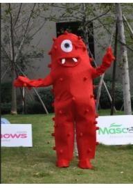 Yo Gabba Gabba Muno Rouge Mascotte Adulte Costume ...