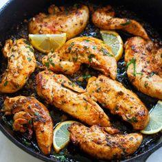 Shrimp Boil (with Cajun Butter!) - The BEST Recipe - Rasa Malaysia Honey Garlic Sauce, Garlic Butter Chicken, Chicken Gravy, Ranch Chicken, Lime Chicken, Garlic Parmesan, Best Chicken Tenders, Rasa Malaysia, Garlic Recipes
