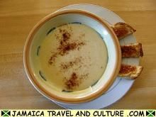 Authentic Jamaican Cornmeal Porridge