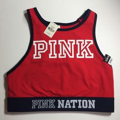 1e1110ee5c Red pink nation reverse racerback sports bra •red pink nation reverse racerback  sports bra •
