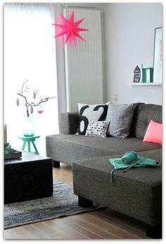 Art Symphony: Neon colours in decoration