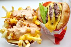 I miss my In-N-Out burgers!