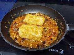 Receta de Bacalao a la miel, súper sencilla y queda un plato riquísimo! Si buscas una receta de bacalao sin complicaciones no dudes en prepararla. Healthy Life, Macaroni And Cheese, Food To Make, Cooker, Nom Nom, Seafood, Curry, Yummy Food, Delicious Recipes