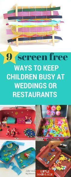 9 screen-free ways t