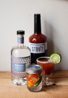 Looking for a great way to mix up your Bloody Mary? Check out this recipe featuring @kovaldistillery - a Red Snapper with a TWIST 😋   #bloodymary #kovaldistillery #gin #gincocktail #redsnapper #cocktail #cocktails #DIY #eeeeeats #forkyeah #yum #yummy #tasty #delicious #eatfamous #blogger #instagood #brunch #brunchgoals #brunchin #photooftheday #instadaily #drinkstout #stout #mixology #bartending Brunch Punch, Red Snapper Recipes, Bloody Mary Recipes, Pint Mason Jars, Dry Gin, Cocktails, Drinks, Non Alcoholic, Distillery