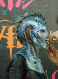 Sea Creature Special FX Makeup