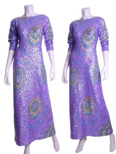 photo 1 of 3 Early 60s Gene Shelly handsequined wool by JoieDeVivreClothing