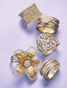 Give mom a ring — and not on the phone! D'Oro by EFFY diamond rings are a truly gorgeous way to show mom you care.