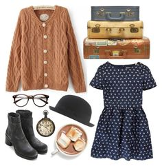 """""""Autumn walk"""" by hanaglatison ❤ liked on Polyvore featuring COSTUME NATIONAL, Jack Wills and Jigsaw"""
