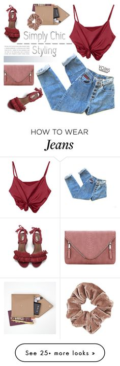 """""""Simply chic with Yoins"""" by purpleagony on Polyvore featuring STOW and Topshop"""
