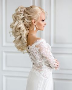 Gorgeous wedding hairstyles | fabmood.com #weddinghair #bridalhair #weddinghairstyle #bridalhairstyle