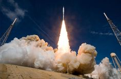 Ares I-X test rocket takes off from NASA's Kennedy Space Center in Florida