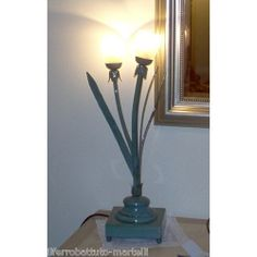 Wrought Iron Table Lamp. Customize Realizations. 493