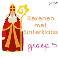Juf-Stuff: Rekenen met Sinterklaas - groep 5
