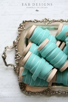 ~ Robins Egg Blue ~ by Nicole Fischer on Etsy
