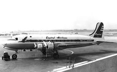 Capital Airlines DC-4