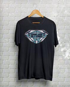 OneLion Streetwear T-Shirt Diamond Design (OLS) #OLS