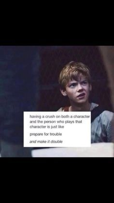 Yes. Yes. Yes. This is not just accurate, it's an example because it's Newt/Thomas Brodie Sangster!!!