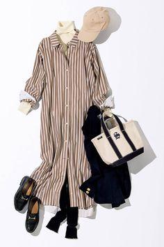 Japan Fashion, All Fashion, Korean Fashion, Autumn Fashion, Fashion Outfits, Womens Fashion, Moda Disney, Blue Mom Jeans, Maxi Outfits