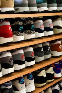 I need shelves like this for mine... they fill up my closet and most of my room