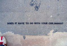 Sidewalk psychiatry: Self-evaluation in transit by Candy Chang http://candychang.com/sidewalk-psychiatry/