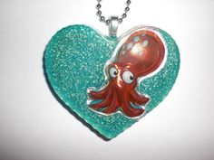 Kraken-Herzkette  von Delirium's Realm auf DaWanda.com
