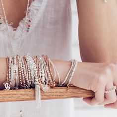 Fabulous stacking bracelets from the original stacking brand ANNIE HAAK