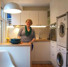 Make the Most of a Small Kitchen!  Great small kitchen!