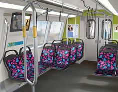 """Check out new work on my @Behance portfolio: """"City Bus & Train Seat Design"""" http://be.net/gallery/38605547/City-Bus-Train-Seat-Design"""