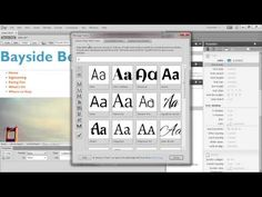 How to make and style a web page in Dreamweaver | Adobe Dreamweaver CC tutorials