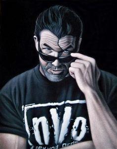"bad guy, Check out all of mind blowing black velvet…"" Nwo Wrestling, Wrestling Posters, Wrestling Shirts, Wrestling Superstars, Scott Hall, Kevin Nash, Shawn Michaels, Wwe World, Wwe Wallpapers"