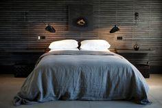 11 Wood-Paneled Walls as Headboards