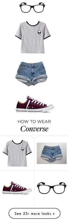 """Untitled #391"" by shiane816 on Polyvore featuring Chicnova Fashion and Converse"