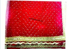 Bridal veils/Addutera/Ghoonghat/Decorative cloth for wedding. Designs,colours,models are customised and personalised according to the wedding themes.