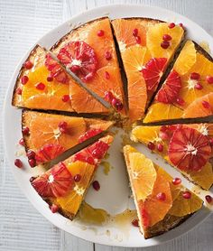 Orange-Scented Almond Torte | This moist, lightly sweetened sponge cake, known as tarta de almendras in Spanish, combines citrus, almonds and olive oil.