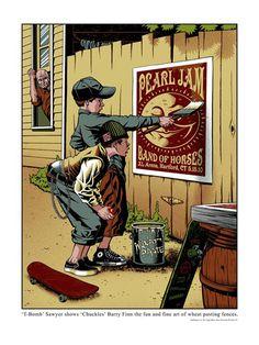 Los mejores carteles de Pearl Jam