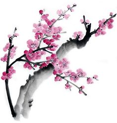 Pintura Sumie Chinese Brush Painting with Lucy Wang Japanese Painting, Chinese Painting, Japanese Art, Chinese Brush, Chinese Art, Amaterasu, Watercolor Flowers, Watercolor Paintings, Watercolors