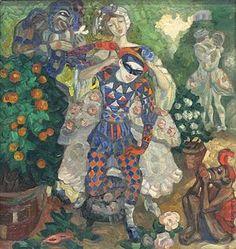 Сергей Юрьевич Судейкин Пантомима, 1914
