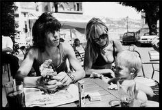 Keith and Anita - France 1971 © Michael Cooper