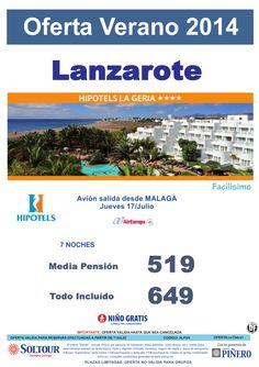Lanzarote: Oferta Hipotels La Geria salidas desde Málaga ultimo minuto - http://zocotours.com/lanzarote-oferta-hipotels-la-geria-salidas-desde-malaga-ultimo-minuto/