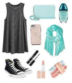 """""""Happy bday @lulu-birdie !"""" by the-meaning-of-leah on Polyvore featuring Converse, Kate Spade, Hipanema, Rimmel, Calvin Klein and MAKE UP FOR EVER"""