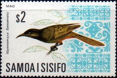 Samoa 1967 Decimal currency SG 289 Samoan Fantail Fine Mint SG 289 Scott 274 Condition Fine MNH Only one post charge applied on multipule purchases