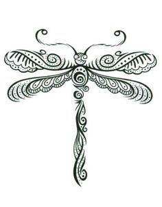 "Henna Dragonfly Temporary Body Art Tattoos 2.5"" x 3.5"" TMI http://www.amazon.com/dp/B008UDU7V6/ref=cm_sw_r_pi_dp_h-.7tb1YWST44 #tattoos #bodyart #inked"
