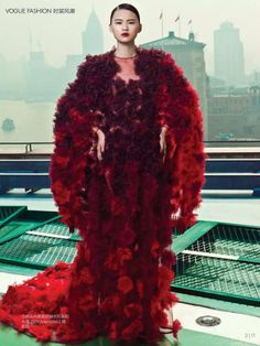 Valentino Shanghai Collection for Vogue China