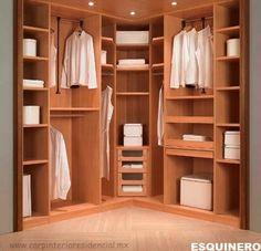 Closets y Vestidores   Carpinteria Residencial SLP
